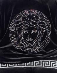 Велюровый костюм Стиль Версаче