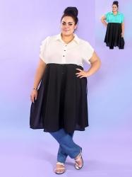 Платье-рубашка Хилари
