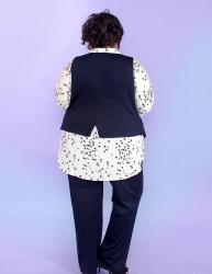 Блуза-рубашка Птички